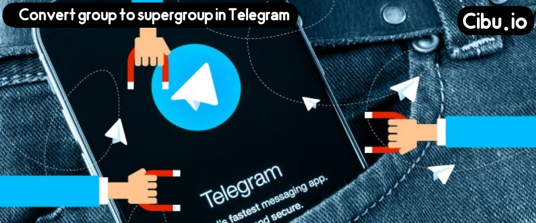 Convert group to supergroup in Telegram